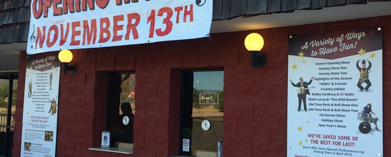 AZ Opry box office opening night